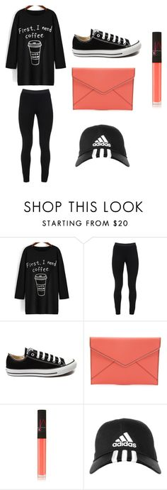 """""""Cute"""" by sydneybushh on Polyvore featuring Peace of Cloth, Converse, Rebecca Minkoff, NARS Cosmetics, adidas, women's clothing, women, female, woman and misses"""