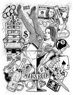 Rebel Eight Artwork