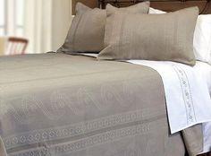 Home Sweet Linens - Bordeaux Alamode Bedspread/Sham