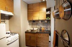 毛巾架拿到廚房, 就是超實用的鍋蓋架了
