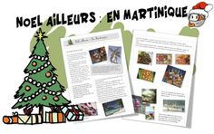 Noël ailleurs : La martinique - Bout de gomme Noel Christmas, Christmas Crafts For Kids, Holiday Crafts, Holiday Decor, Holiday Ideas, Rite De Passage, Flags Europe, Core French, Theme Noel