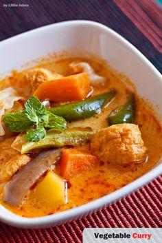 Little Inbox Recipe ~Eating Pleasure~: Vegetable Curry