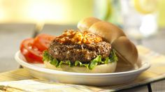 Zesty Blue Cheese Burgers, A Twist to the Old Hamburger Recipe | Dollar General Easy Meals