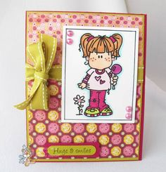 HYCCT1201B Hugs & Smiles by Cammystamps - Cards and Paper Crafts at Splitcoaststampers  Bugaboo stamp