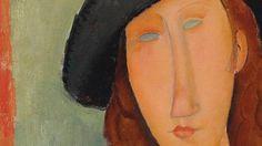 """Modiglianis """"Jeanne Hébuterne (au chapeau)"""" von 1919 ist eine alte Bekannte auf dem Markt. Die Erwartung liegt bei sechzehn bis 22 Millionen Pfund."""