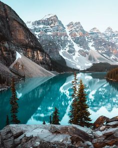 My goal for 201 Lake Photography, Landscape Photography, Canada Destinations, Beautiful Winter Scenes, Moraine Lake, Morning View, Snow Scenes, Nice View, Great Places