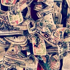 One million stories by you.  One million thank yous from us. #converse #chucktaylor