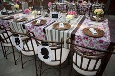 Detalhes de decoração de casamentos norte americanos