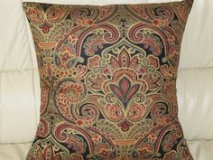 Throw Pillow Cover 18x18  with Envelope by AquamarsBoutique, $18.00
