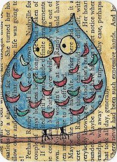 'Osbert Owl' by Jane Coquillon