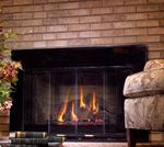 High efficiency gas fireplace insert- Perfect place to relax on a cold day! Gas Insert, Stove Fireplace, Fireplace Inserts, Cold Day, Perfect Place, Relax, Stove
