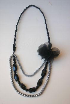 Make Your Own Ribbon Necklace | So you want to learn how to make your own necklace? Then here we go...