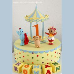 "Reference: 1442 ""In the Night Garden"" themed cake. Approx. 70 coffee serves.  Image 11 of 57"