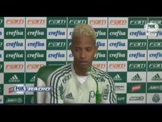 Coletiva com Moiséis do Palmeiras sobre a confusão com Felipe Melo 07 11...