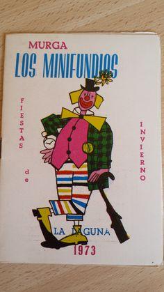 Cancionero Murga Los Minifundios. Año 1973. Carnaval de Santa Cruz de Tenerife