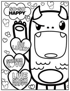 23 best kawaii coloring pages images on pinterest coloring pages