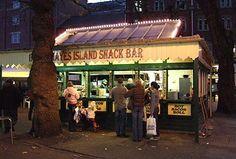 Hayes Island Snack Bar, Cardiff, Wales, UK