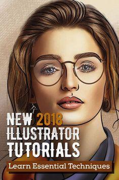 Illustrator Tutorials: 35 Fresh and Useful Adobe Illustrator Tutorials #howto #drawing #vectorgraphics #illustration #illustratortutorials #digitalart #besttutorials