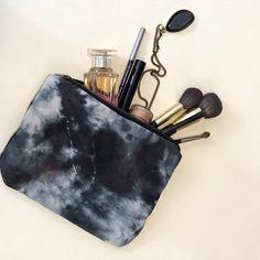 A personal favorite from my Etsy shop https://www.etsy.com/listing/293275969/shibori-tie-dye-makeup-bag