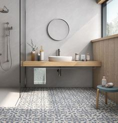 20 Rustic Bathroom Vanity Ideas that are Simply Unforgettable - Site Home Design Bathroom Red, Steam Showers Bathroom, Modern Bathroom, Small Bathroom, Master Bathroom, Cement Bathroom, Moroccan Tile Bathroom, Eclectic Bathroom, Bathroom Taps