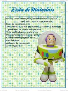 MOLDES DE BUZZ - TOY STORY