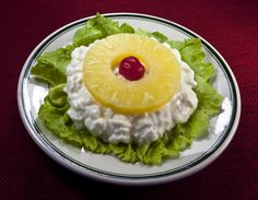 Blast from the past...had forgotten this salad. Kind of pretty, isn't it?