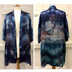 Meiji designs based in York. Create bespoke hand-made, hand-dyed silk designs - from pocket squares to kimonos to scarves! Choose your colours and brighten up your outfit!  http://www.meiji-designs.co.uk