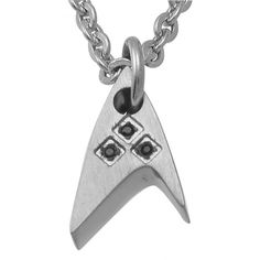 Just have this Star Trek Titanium Starfleet Black Crystal Pendant around your neck and Convey your loyalty with you wherever you go. This is from one of th