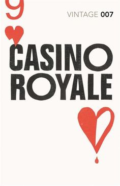 Casino Royale, Ian Fleming. Category: Popular author's first novel.