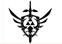 Legend Of Zelda - Skyward Sword Logo The Legend Of Zelda, Legend Of Zelda Tattoos, Zelda Skyward, Skyward Sword, Link Zelda, Sword Logo, Sword Tattoo, Shield Tattoo, Shield Logo
