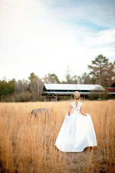 wedding dress great fall pic
