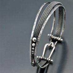 Woven Orbit Bracelet Argentium Silver Bracelet by sarahndippity Wire Wrapped Jewelry, Metal Jewelry, Jewelry Art, Jewelry Bracelets, Silver Jewelry, Jewelry Accessories, Jewelry Design, Silver Ring, Jewlery