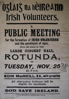 The Century Ireland project is an online historical newspaper that tells the story of the events of Irish life a century ago Northern Ireland Troubles, Protest Posters, Irish Eyes, Power To The People, Concert Hall, The Covenant, Dublin, Film, Easter Rising