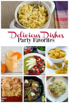 Here are the party favorites from last week's Delicious Dishes Recipe Party #8.