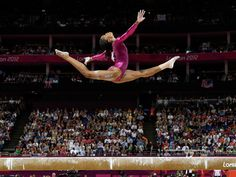 "Fresh from her historic gold medal win in the gymnastics individual all-around, Gabby Douglas said ""it's so meaningful"" to be the first African-American woman to win the title."