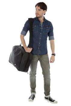 Urban 42L - Lightweight Cabin Bag - Absolute Black Weekend City Breaks, Cabin Bag, Urban, Shirt Dress, Denim, Mens Tops, How To Wear, Jackets, Bags