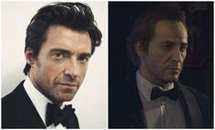 Uncharted movie cast sam drake actor Hugh Jackman
