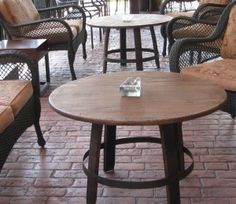barrel coffee table arched napa valley wine barrel
