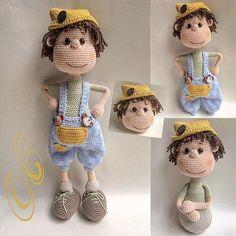 Meet Pimmetje! #crochet #haken #häkeln #handmade #madewithlove #madebyme #zelfgemaakt #zelfgehaakt #hakeniship #hakenisleuk #crochetlove #crochetaddict #amigurumi #amigurumidoll #doll #crochetdoll #boy #pimmetje #cal