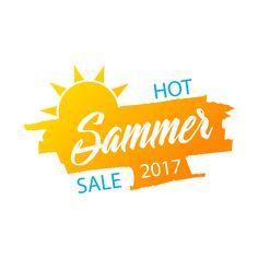 Hot summer sale banner by vivat on @creativemarket