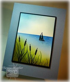 Crafting The Web: Cattails and Sailboat