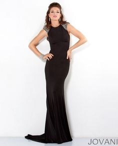 Designer Dress with Open Back, Style 4918
