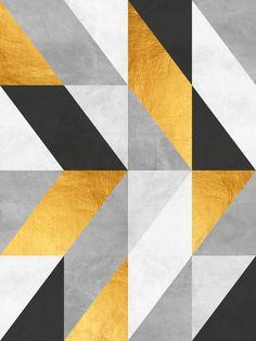 Golden Geometric Art Art Print by - X-Small Islamic Art Pattern, Pattern Art, Collage Design, Design Art, Opt Art, Abstract Drawings, Abstract Geometric Art, Arte Pop, Pattern Wallpaper