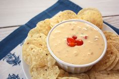 Homemade Queso. No more processed bland store bought queso, you'll be surprised how easy this recipe is!