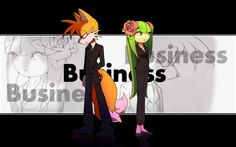 Tails and Cosmo: Business by Cheroy