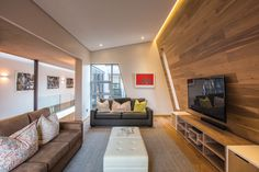 WOOD COVERD WALL