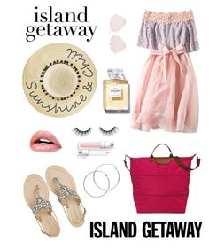 """Summer"" by antoniarauss22 ❤ liked on Polyvore featuring Antik Batik, Longchamp, Betsey Johnson, tarte and Melissa Odabash"