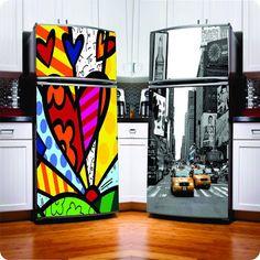 cozinha com geladeira envelopada - Pesquisa Google