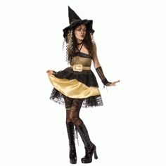 Gold Witch Costume