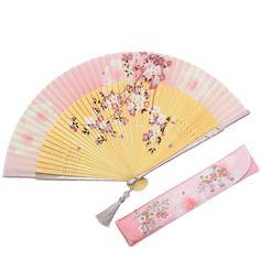 姫桜(ひめざくら) 扇子セット (全3種類) | 婦人(女性)扇子 | | 白竹堂オンラインショップ